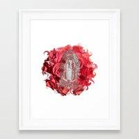 La Virgen De Guadalupe S… Framed Art Print