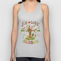 Fall in Love with the Season Unisex Tank Top