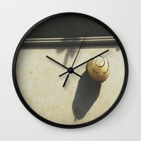 Chocolate Scented Candle Wall Clock