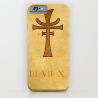 iPhone & iPod Case featuring Indiana Jones The last crusade.  by liam nicholson