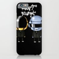 iPhone & iPod Case featuring Daft Punk by artwaste