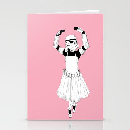 Ballerinatrooper Stationery Card