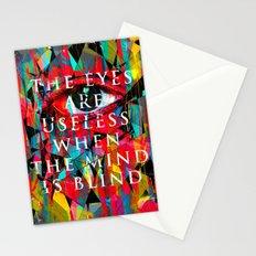 Useless Eyes Stationery Cards