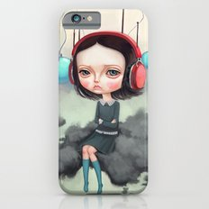 Girl Pouting On A Cloud iPhone 6s Slim Case