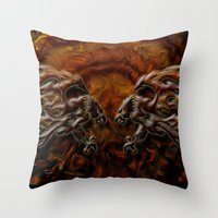 War Eagles Throw Pillow
