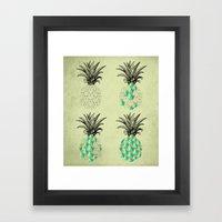 Life Of A Pineapple Framed Art Print