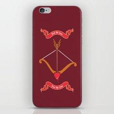 Love target. iPhone & iPod Skin