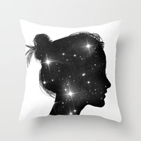Star Sister Throw Pillow