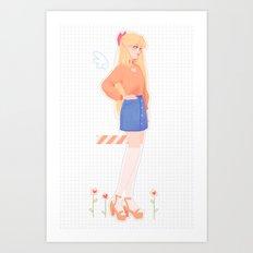 Minako Art Print