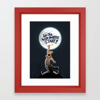 Where the wild things are Framed Art Print