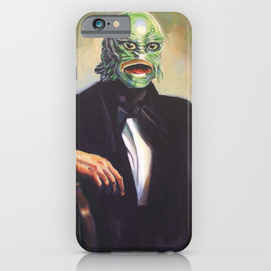 Portrait of Monsieur Gills iPhone & iPod Case
