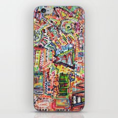 Adventures in Everything iPhone & iPod Skin