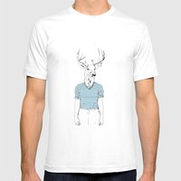 Wild Nothing I Mens Fitted Tee White SMALL