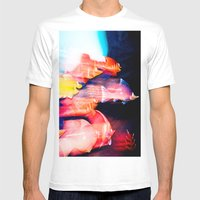 Under The Sea Mens Fitted Tee White SMALL