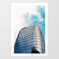 Big Building Art Print