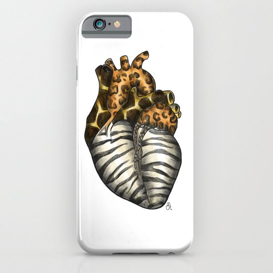 Heart gone wild - color  iPhone & iPod Case
