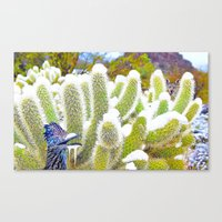 Frosted Acme Desert Delights from Cave Creek, Arizona Canvas Print