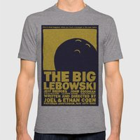 The Big Lebowski Mens Fitted Tee Athletic Grey SMALL