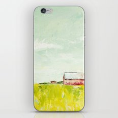 Oil painting house iPhone & iPod Skin