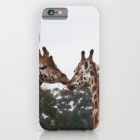 iPhone & iPod Case featuring lovers by Jordan Alanda