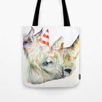 Rhino's Party Tote Bag