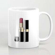 LIPSTICK PRINT Makeup Print Lipstick Print,Makeup Painting Glam Room  Fashion Painting  Mug