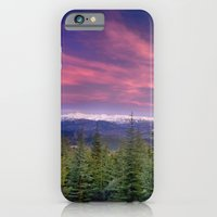 Spring sunset at the mountains iPhone 6 Slim Case