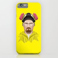 iPhone & iPod Case featuring Breaking Bad - Walter White in Lab Gear by Mr. Peruca