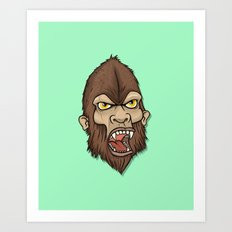 Wildman Art Print