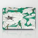 green peonies iPad Case