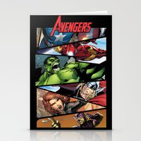 THE.AVENGERS  Stationery Cards