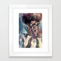 Following the Star Framed Art Print