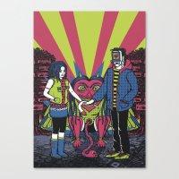LOVESICK Canvas Print