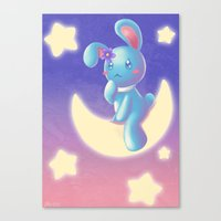 Waiting On The Moon Canvas Print
