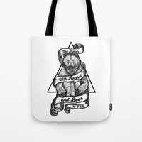 The Bear With Beard And … Tote Bag