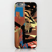 iPhone & iPod Case featuring Nietzsche Walks Out At Bayreuth (The Theater of Noisea)  by Lanny Quarles