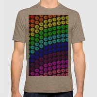 Chase the rainbow Mens Fitted Tee Tri-Coffee SMALL