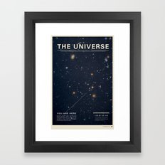 THE UNIVERSE - Space | T… Framed Art Print