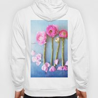 Wild Flowers and Spring Asparagus Hoody