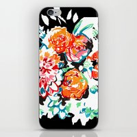Brush Floral iPhone & iPod Skin