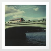 Westminster Bridge, Pola… Art Print