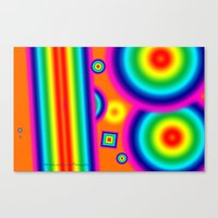 Psychedelich  Canvas Print
