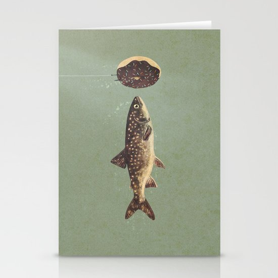 Irresistible Bait  Stationery Card