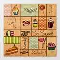 Sweet Things! Canvas Print