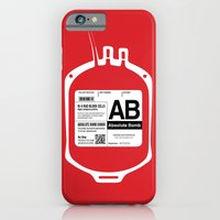 My Blood Type is AB, for Absolute Bomb! iPhone 6 Slim Case