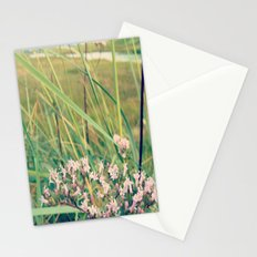 flowers at the beach Stationery Cards
