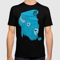 Buffalo Captain Mens Fitted Tee Black SMALL