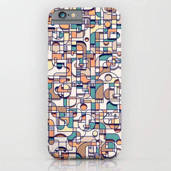 HUMAN BEINGS iPhone & iPod Case