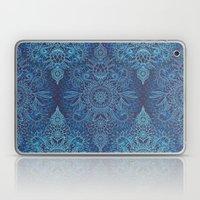 Aqua, Cobalt Blue & Purp… Laptop & iPad Skin