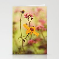 Lemon Drop Flower Box Stationery Cards